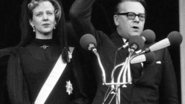 Statsminister Jens Otto Krag udråbte for 40 år siden tronfølgeren, prinsesse Margrethe, til Danmarks dronning.