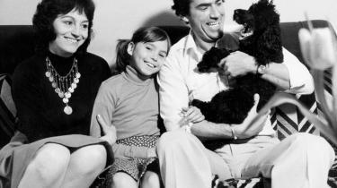 Poul Glargaard med datter Mette Glargaard