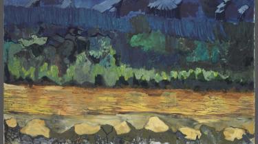 Hvad tænkte Per Kirkeby på, da han malede lige netop dette billede, 'Weltuntergang', og er det nødvendigt, at beskueren ved det for at få en oplevelse ud af værket?
