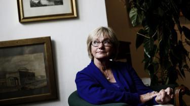 Pia Kjærsgaard ser en kile for sig i regeringssamarbejdet: 'De Radikale er et eliteparti, akademikere – og for folk som har deres på det tørre. Der har Socialdemokraterne og SF en anden profil. Derfor tror jeg, at det bliver vanvittig svært for dem at blive enige,' siger hun til Information.