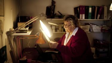 Anny Bennike bliver ved med at analysere håndskrift, så længe hun har øjne til at se med, som hun siger.