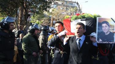 Det centrale Damaskus var i weekenden målet for en række bombeangreb, og der er rapporteret om adskillige dræbte.