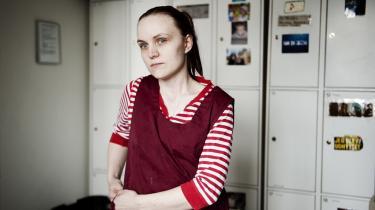 Med hjælp fra jobcentret lykkedes det sidste år den 22-årige førtidspensionist Carina Jørgensen at få en praktikplads i køkkenet på et bosted for udviklingshæmmede.