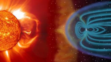 Eksplosioner på solen kan være mindst lige så farlige for moderne samfund som massive oversvømmelser, masseødelæggelsesvåben og epidemier. Det fremgår af en ny britisk risikovurdering