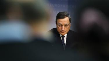 Præsidenten for ECB Mario Draghi afviste under weekendens møde i IMF i Washington, at banken bør gøre mere for at støtte væksten med pengepolitikker, som blandt andet IMF ellers har opfordret til.
