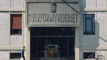 Ikonet på det onde. Overformynderiet eksisterer ikke længere som statsinstitution, men bygningens facade i København rummer alt det, den traditionelle kritik af staten retter sig mod.