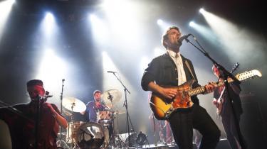 April var en af årets travleste måneder for spillestedet Vega i København – her Choir of Young Believers forrige fredag.
