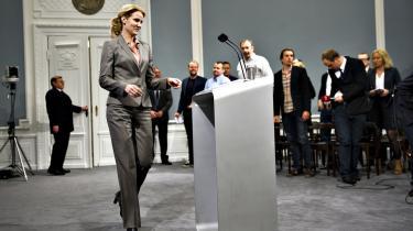 Statsminister Helle Thorning-Schmidt brugte ganske lang tid på sit ugentlige pressemøde i statsministeriet på at tale om Europas vækst.