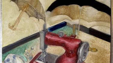 Inspiration. Surrealisterne forgudede Isidore Ducasse og så ham som deres forløber. Det var i de 'Maldorors sange' fra 1869, der netop er genudgivet på dansk, at man kunne læse den berømte definition på en ny slags skønhed: 'Smuk som det tilfældige møde på et operationsbord mellem en symaskine og en paraply.' Her fortolket af en anonym kunstner.