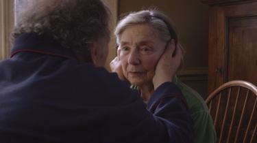 Michael Hanekes 'Amour', en rørende film om den evige, altopofrende kærlighed mellem to gamle mennesker, synes lige nu at være kritikernes favorit til at vinde en Guldpalme på årets filmfestival i Cannes – sammen med Thomas Vinterbergs 'Jagten'