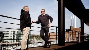 Ole Philipsen fra Dansk Metals Maritime Afdeling og Henrik Holck fra DFDS har med etableringen af en 'social fond' i overenskomsten skrevet et lille stykke danmarkshistorie.