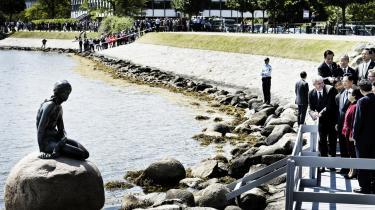 De kinesiske ledere har inden for de seneste år skruet voldsomt op for antallet af officielle besøg i Europa – som Hu Jintaos statsbesøg i Danmark i denne uge.