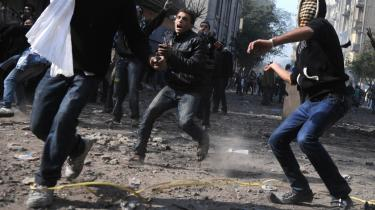 Fremtiden? 'The Arab Uprisings' er en glimrende bog, som giver en aktuel analyse af de arabiske oprør (her Kairo november 2011) indtil foråret 2012, men samtidig bliver man som læser næppe klogere på, hvad udfaldet bliver, for Lynch er i bogen tilbageholdende med at give prognoser for fremtiden.