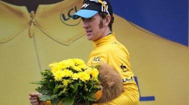 Bradley Wiggins er måske ikke nogen stor Tour-vinder, men en på mange måder meget menneskelig vinder