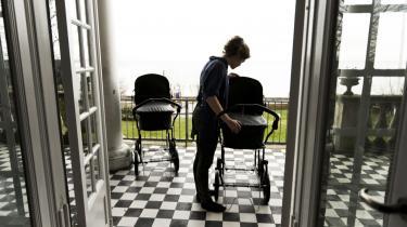 En række institutioner for udsatte børn og familier er lukket de seneste år. Her Skodsborg Obersvations- og behandlingshjem. Arkiv