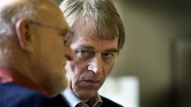 Aage Frandsen støttede Villy Søvndal under formandsvalget i 2005.