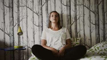 Den svenske RUC-studerende Nina Raundahl i sit hjem i København.