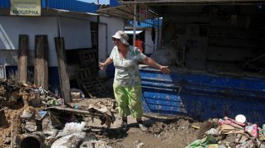 Det russiske samfund er håbløst overbebyrdet, hvilket bliver demonstreret ved regionale kriser som oversvømmelserne i Krimsk i juli, hvor mindst 170 mennesker mistede livet.