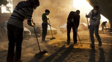 Oprydning. Oprydningen efter Mubarak-regimet i Egypten er ikke afsluttet. Og det er stadig ganske usikkert, om slut-resultatet bliver et demokrati vestlig forstand.