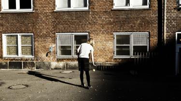 En omlægning af skoledistrikterne på Nørrebro betyder, at en del etnisk danske forældre er utilfredse med, at deres børn nu bliver tilbudt en plads på Blågård Skole i stedet for Guldbergsskolen (billedet).