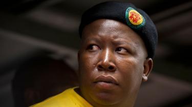Myndighederne frygter, at minestrejken spreder sig til andre sektorer – blandt andet militæret. Og de frygter manden bag de strejkende: Julius Malema