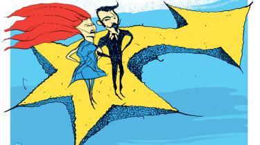 I dag er det 40 år siden, danskerne stemte ja til medlemskab af EF. Drømmen om et Europa uden krig er blevet virkelighed, men det europæiske projekt er aldrig blevet en folkesag. I Danmark deler EU fortsat befolkningen – men med nye brudflader