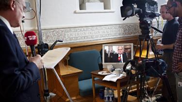 Problemet med de danske mediers nyhedsdækning er ikke mangel på konstruktivitet, som anført af nyhedsdirektør i Danmarks Radio, Ulrik Haagerup, men et elementært fravær af perspektiv, mener Informations chefredaktør Christian Jensen.
