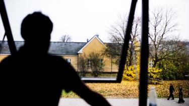 Asylansøgere i Sandholmlejren. 182 af de 1.473 afviste asylansøgere i Danmark vil samarbejde med de danske myndigheder om at lade sig hjemsende, så snart det er muligt, viser tal fra justitsministeriet.