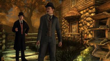 Sherlock Holmes er stadig aktuel – blandt andet i bogform, på tv og i spillet 'The Testament of Sherlock Holmes' (billedet).
