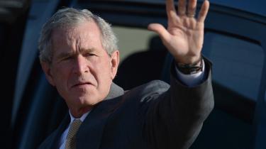 George W. Bush er upopulær i sit eget parti og er ikke med i republikanernes valgkamp.