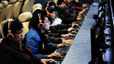 Der er i dag 538 mio. internetbrugere i Kina – det vil sige, at 40 procent af befolkningen er online, og det er næsten en tredobling på fem år.