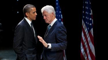 'Klimaet forandrer sig med alarmerende hast med ødelæggende konsekvenser, der truer med at lukke alting ned og bringe vores fremtid i fare,' sagde tidligere præsident Bill Clinton i sidste måned til en forsamling på 1.200 mennesker i Pittsburgh, USA. Men den nuværende præsident, Barack Obama, er tøvende mht. klimaudmeldinger.