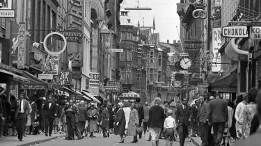 I anledning af Strøgets 50-årsfødselsdag kunne man passende overveje, om man ikke – i stedet for at renovere middelalderbyens belægninger gade for gade – burde hæve blikket lidt og spørge, hvad vi overhovedet vil med hovedstadens gamle bykerne. Arkiv