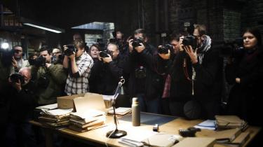 Opbuddet af fotografer var stort som til en kongelig dåb, men det drejede sig om lanceringen af fire ny kriminalfilm baseret på Jussi Adlers-Olsens romaner om kommissær Carl Mørk, spillet af Nikolaj Lie-Kaas.