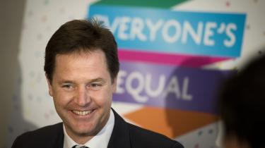 'Reformer opnår vi ved at udvise lederskab, ikke ved at trække os. Hvis vi vil vinde, må vi stille op og være med.' Storbritanniens vicepremierminister Nick Clegg advarer mod britisk enegang i EU.