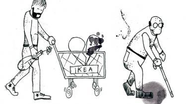 Markeringer af livets store overgange er flyttet fra kirken til Ikea. Her købes inventar til ungdomshyblen, børneværelset og det nye hjem efter skilsmissen. Det er et tavst og individualiseret ritual