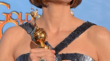 Jodie Foster fik en Golden Globe for sin lange karriere i filmens verden.