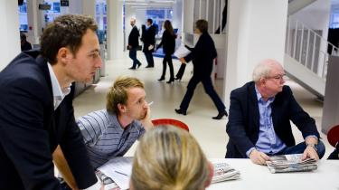 De store traditionelle medier som Berlingske (billedet) mister ifølge Kulturministeriets egne beregninger et mindre millionbeløb med den nye mediestøtteaftale.