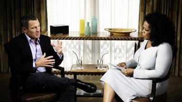 Lance Armstrong indrømmede over for Oprah Winfrey, at han tog præstationsfremmende stoffer – bloddoping, epo og testosteron – under samtlige af sine syv sejre i Tour de France.
