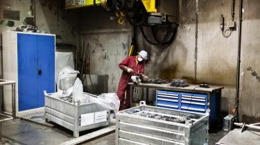Selv om skiftende regeringer forgæves har forsøgt at eksportere Danmarks 233 kilo mellemradioaktivt affald, forsøger politikerne nu igen at finde en aftager til affaldet i udlandet. Her ses et atomaffaldslaget i Schweiz.