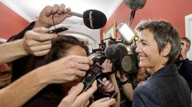 Liberal Alliances Simon Emil Ammitzbøll vil have økonomi- og indenrigsminister Margrethe Vestager (R) til at redegøre for ministeriets praksis, når det kommer til redigering af høringssvar.