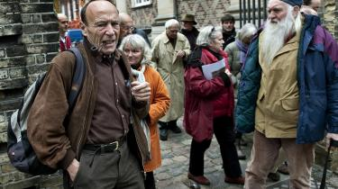 Juraprofessor Ole Krarup sagsøgte med en gruppe borgere den tidligere regering for ikke at lægge Lissabontraktaten ud til folkeafstemning. I dag afgør Højesteret, om det var et grundlovsbrud. Arkiv