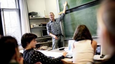 Med den nye overenskomst for statsligt ansatte kommer det til at være op til rektorerne at tilrettelægge lærerens arbejdstid sammen med den enkelte lærer.
