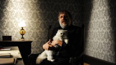 Slavoj Žižek, her i et stillbillede fra filmen The Pervert's Guide to Ideology. Foto: Scanpix