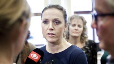 Social- og integrationsminister Karen Hækkerup (S). Foto: Scanpix