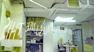 Foto fra Hannah Heilmans udstilling på Green is Gold.