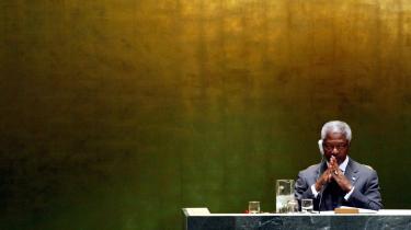 Kofi Annans tid som generalsekretær for FN var præget af katastrofer og skandaler – men det har på en eller anden måde ikke sat sig spor i den ghanesiske diplomats ry.