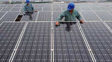 Der laves alt for mange solpaneler i Kina – især af firmaet Suntech Power, som gået konkurs.