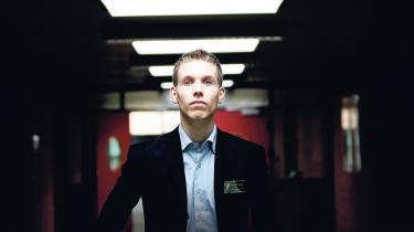 Selv om Rasmus Brygger er formand for Liberal Alliances Ungdom, kunne han aldrig drømme om at blive medlem af Folketinget. Foto: Hans Christian Jacobsen