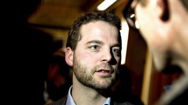 ARKIVFOTO 2013 af uddannelsesminister Morten Østergaard.